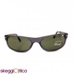 Occhiali da Sole unisex acetato grigio verde lenti in cristallo Vintage persol