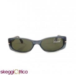 Occhiali da Sole donna lenti in cristallo acetato grigio verdevVintage persol