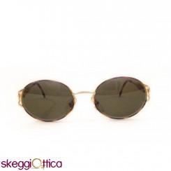 Occhiali da Sole unisex metallo oro tartarugato Vintage karaty