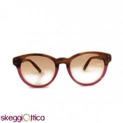 Occhiali da Sole unisex acetato bicolore viola marrone Vintage tommy hilfiger