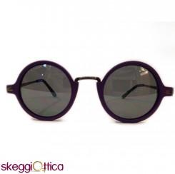 Occhiali da Sole donna acetato viola Vintage enox