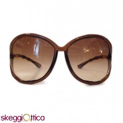 Occhiali da Sole donna acetato marrone sole Vintage tom ford