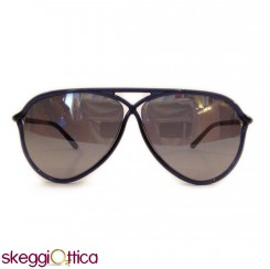 Occhiali da Sole acetato blu lenti flash Vintage tom ford