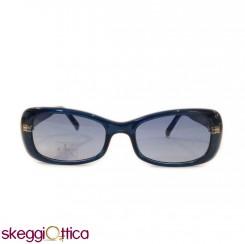 Occhiali da Sole Vintage donna acetato blu ck calvin klein