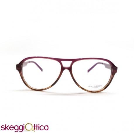Occhiali da vista donna acetato a goccia prugna vintage for Occhiali tondi da vista vintage