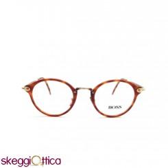 Occhiali da Vista Vintage unisex tartarugato acetato Boss Hugo Boss