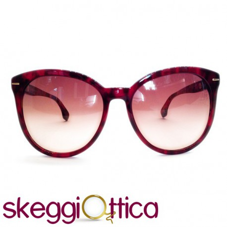 comprare popolare a2e74 7f30b Occhiali da sole donna maculato rosso Ck Calvin Klein