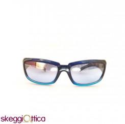 Occhiali da sole unisex acetato bicolore blu sportivo smith