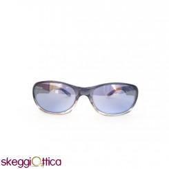 Occhiali da sole unisex bicolore acetato blu grigio sportivo smith