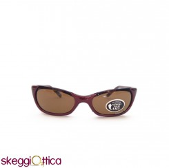 Occhiali da sole unisex acetato bordeaux sportivo smith