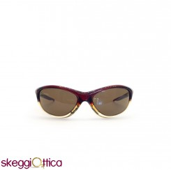 Occhiali da sole unisex acetato sportivo bicolore bordeaux smith