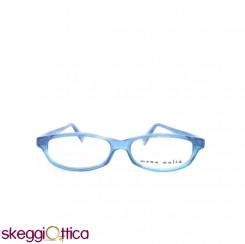 Occhiali da vista unisex acetato blu fluo