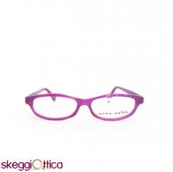 Occhiali da vista acetato glitter viola fluo