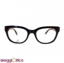 Occhiali da Vista Vintage donna nero acetato CK Calvin Klein