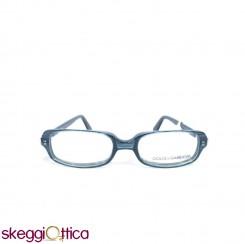 Occhiali da vista unisex acetato blu striato Dolce e Gabbana