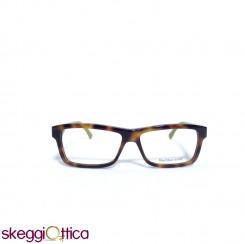 Occhiali da vista unisex acetato tartarugato marrone bicolore Diesel