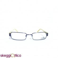 Occhiali da vista unisex metallo bicolore giallo viola Just Cavalli
