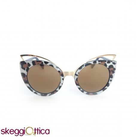 selezione migliore 5a3c6 fb34b Occhiali da sole donna acetato lenti flash maculato Pinko