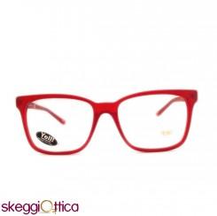 Occhiali da Vista unisex rosso opaco Yell!