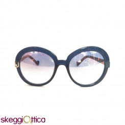 Occhiali da sole donna acetato lenti flash blu LiuJo