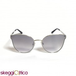 Occhiali da sole  donna argento lenti flash Bulget