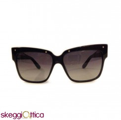 Occhiali da sole donna acetato nero borchie marc by marc jacobs