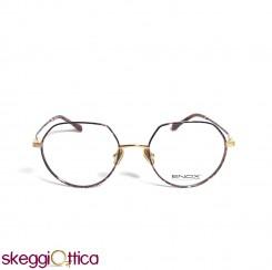 Occhiali da vista donna metallo oro tartarugato Enox